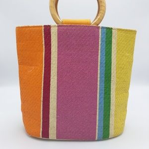 Handbags - Vintage Colorful Handbag Small/Medium Sized